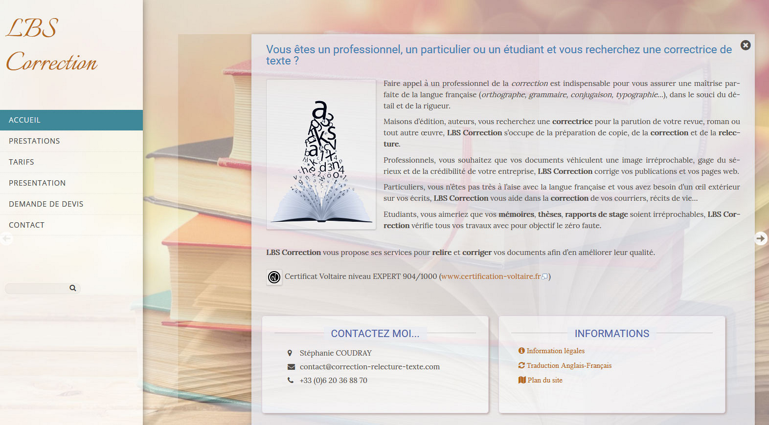 Site Internet Draguignan: www.correction-relecture-texte.com